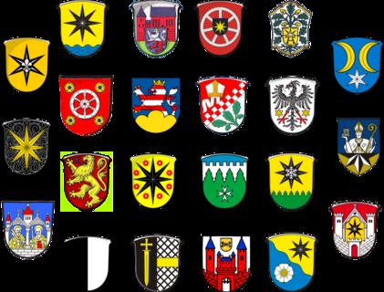 Wappen Gemeinden Landkreis